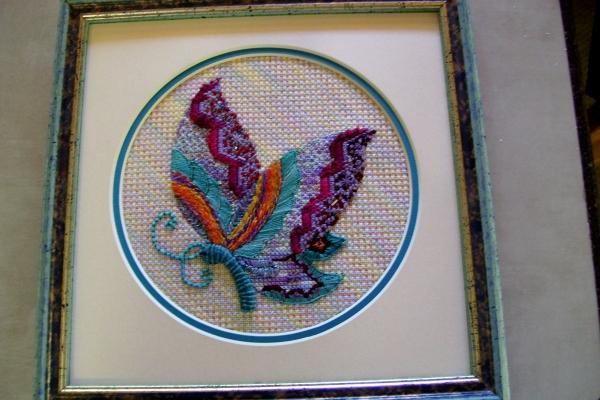 Gypsy's Butterfly Framed2